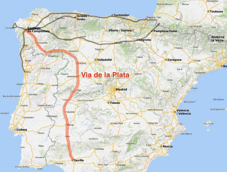 Unser Nächster Camino 1000 Kilometer Auf Der Via De La Plata Bloghausgeschichten